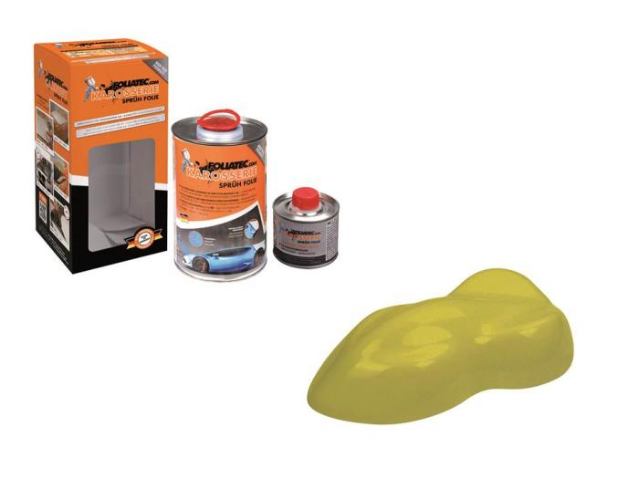 Carbody Spray Film Foliatec Jaune Vert Metallique Mat - Coup-de-volant.fr